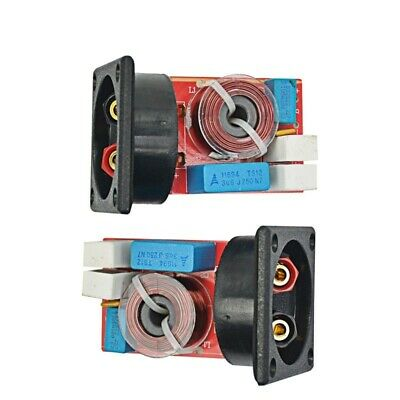 AU35.63 • Buy Crossover Filters 2-Way Hi-Fi Speaker Frequency Divider 2 Unit Box Home Kit 2Pcs
