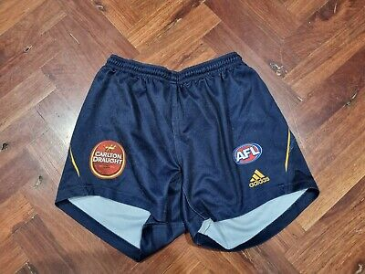 AU65 • Buy AFL Adidas Adelaide Crows Player Issue  Home Playing Shorts - Large
