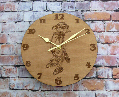 £14 • Buy Harry Potter Dobby Engraved Wood  Wall Clock Nice Gift