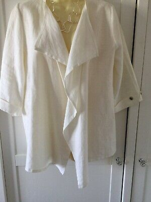 £3 • Buy David Emmanual Ladies Jacket 14 Cream New Without Tags