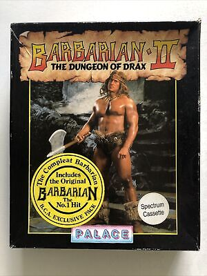 £8 • Buy BARBARIAN 1 AND 2 - ZX Spectrum Game Boxset