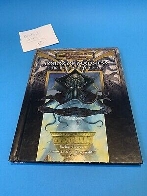AU160.32 • Buy Lords Of Madness: The Book Of Aberrations Dungeons And Dragons D&D RPG V3.5 WOTC