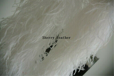 £52 • Buy Ostrich Feather Boa 5ply Ones White Color