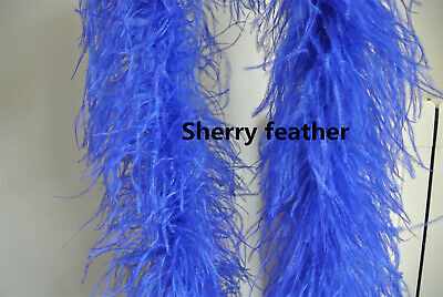 £52 • Buy Ostrich Feather Boa 5 Ply Ones Royal Blue Color