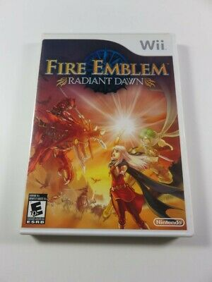 £114.32 • Buy Fire Emblem - Radiant Dawn Nintendo Wii Ntsc-usa (complet - Very Good Condition)