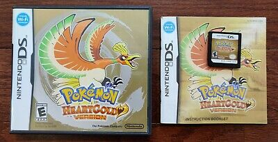 $169.99 • Buy Pokemon HeartGold Heart Gold Version Nintendo DS NDS Complete CIB Game Authentic