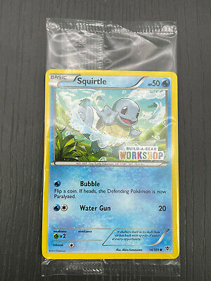 $15.04 • Buy Pokemon Card Squirtle Build A Bear Workshop Promo 14/101 Brand New & Sealed