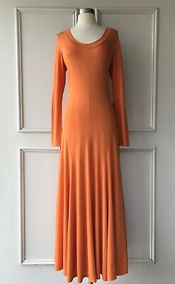 AU55 • Buy | COUNTRY ROAD | Fit And Flare Knit Dress Ochre | $229 | SIZE: XS,S,M,L,XL |