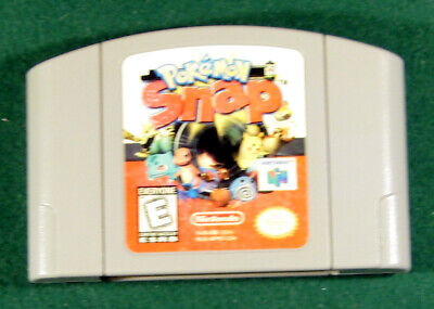 $27 • Buy N64 Pokemon Snap (Nintendo 64, 1999) Game Only, Authentic, Tested
