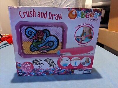 AU13.79 • Buy Orbeez Crush And Draw Set Craft Kit 1800 New In Box