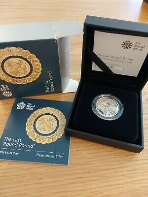 £27 • Buy Royal Mint 2016 UK Silver Proof £1 Coin  The Last Round One Pound  Cased & Boxed