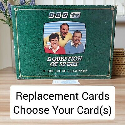 £1.99 • Buy A Question Of Sport - 1986 - Replacement Cards - Choose Your Card