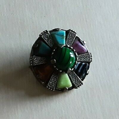 £9 • Buy Vintage Scottish Signed Miracle  Brooch