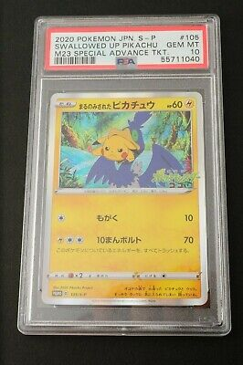 $489.99 • Buy PSA10 Pokemon Japanese 2020 Swallowed Up Pikachu M23 Special Adv #105 From JAPAN