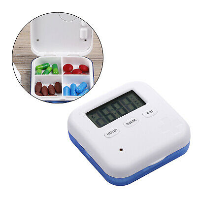 £8.77 • Buy 4 Grids Electronic Pill Reminder Automatic Tablet Dispenser Baby Nursing