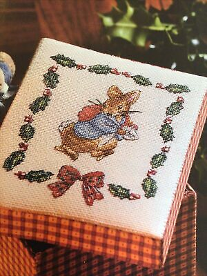 £4.99 • Buy (X4) Beatrix Potter Peter Rabbit And Holly Christmas Cross Stitch Chart