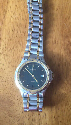 £8 • Buy Accurist Mens Stainless Steel /Gold Colour Date Watch Quartz MB150. Working Vgc