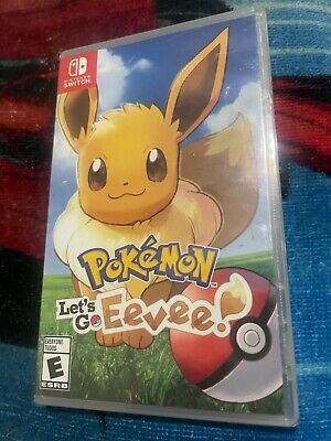 $45.09 • Buy Pokemon Let's Go Eevee   Nintendo Switch   BRAND NEW FACTORY SEALED Great Game