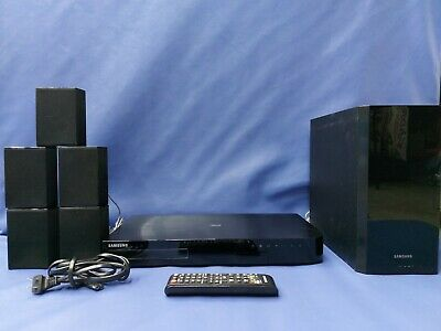 £91.51 • Buy Samsung 3D Blu Ray Surround Sound Home Theater System Ht-h4500/za H4500 Subwoof