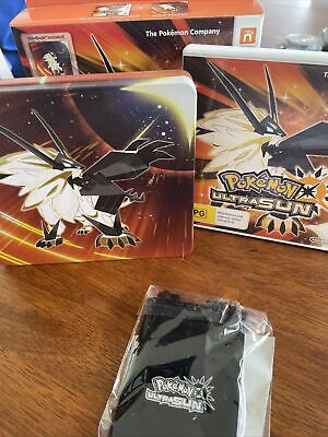 AU149 • Buy Pokemon Ultra Sun (3DS, 2017) - Fan Edition Special Coin Included - Free Post