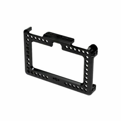 AU65.66 • Buy FEICHAO Camera Monitor Cage Mount Bracket For FeelWorld F6 Plus 5.5 Inch Display