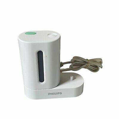 AU33.27 • Buy USED Philips Sonicare HX6160/D White UV Toothbrush Sanitizer/Charger Only