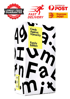 AU31.95 • Buy Cards Against Humanity: Family Edition Main Game