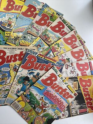 £13.99 • Buy 11 X BUSTER COMICS  Bundle FROM 1988 - 1989  - EXCELLENT CONDITION