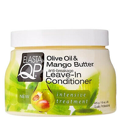 £6.84 • Buy Elasta QP Olive Oil & Mango Butter Anti Breakage Leave In Conditioner 425 G