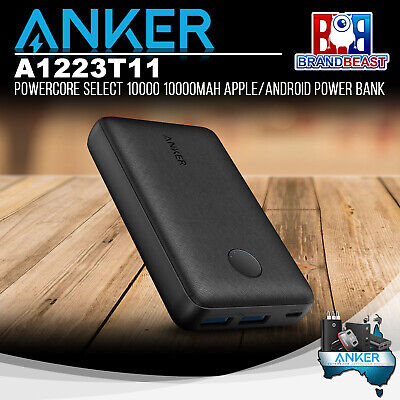 AU50.05 • Buy Anker A1223T11 PowerCore Select 10000 10000mAh Apple/Android Power Bank