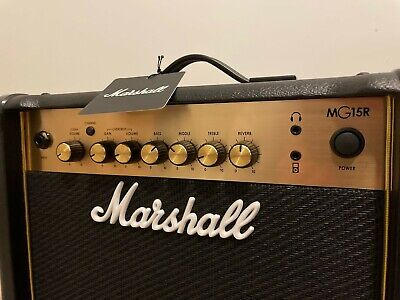 AU139 • Buy Marshall MG15R Gold 15 W Guitar Combo Amplifier With Reverb