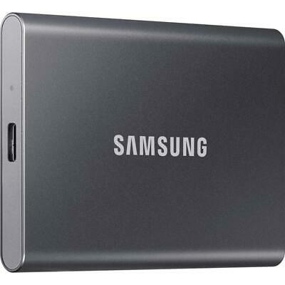 AU139 • Buy Brand New Samsung T7 500GB USB 3.2 External Solid State Drive Portable SSD