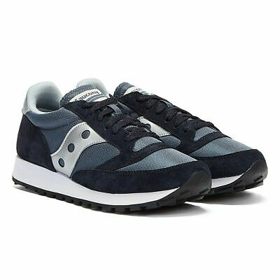 £50.99 • Buy Saucony Jazz 81 Mens Navy Blue / Silver Trainers