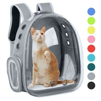 £19.99 • Buy Perfect-Pet Carrier Backpack Capsule Travel Dog Cat Bag Breathable Astronaut UK