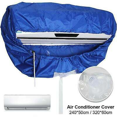AU25.56 • Buy Air Conditioner Protector Cleaner Washing Cover Cleaning Dust Waterproof 2 Sizes