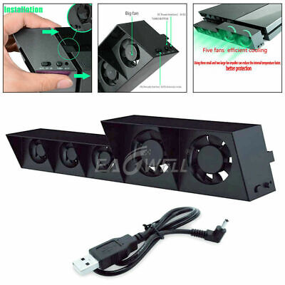 AU29.39 • Buy For PS4/PS4 Pro Game Accessories Play Station 4 Host Cooling Fan Cooler External