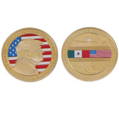 AU4.22 • Buy Us Donald Trump 2020 Build The Wall To Keep America Great Coin Commemorat.hu