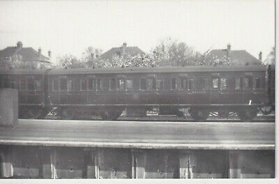 £1.10 • Buy Ex Midland Railway Carriage As Br No M10475 At Upminster 1949  Rp Photo