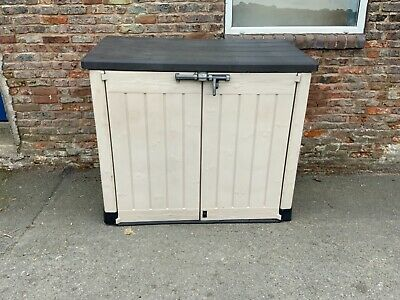 £100 • Buy Keter Store It Out Large Garden Storage Unit Shed Plastic Weatherproof Bike Tool