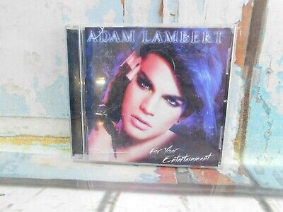 AU4.03 • Buy For Your Entertainment - Audio CD By Adam Lambert