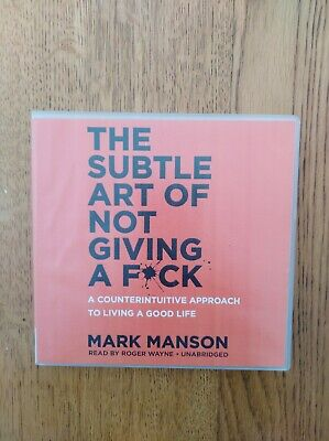 AU20 • Buy The Subtle Art Of Not Giving A F*ck CDs X 5