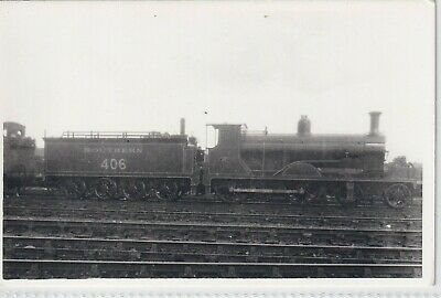 £1.10 • Buy Southern Railway Locomotive Number 406   Rp Photo