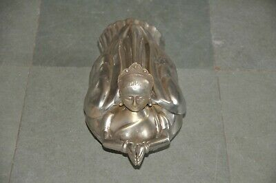 £78.27 • Buy  Old Brass Nickle Plated Handcrafted Fairy Shape Betel Nut Box, Collectible