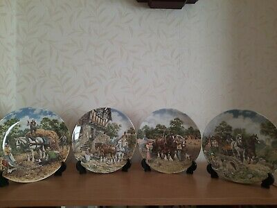 £80 • Buy Wedgewood - Life On The Farm Collection - 8  Plates- Excellent Cond. Limited