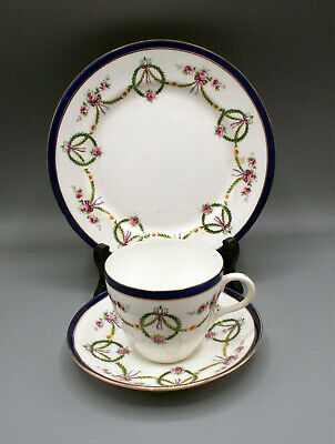 £25 • Buy Antique 1912/13 Star China Company (Paragon Star) Trio - Swags, Flowers & Bows