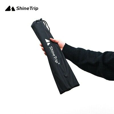 AU8.93 • Buy Black Tent Pole Bag Case Outdoor Accessories Carrier Canopy Pull Cord Useful