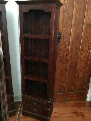 AU65 • Buy Narrow Antique Bookcase Perfect For Any Child's Room, Lounge Or Dining Room.