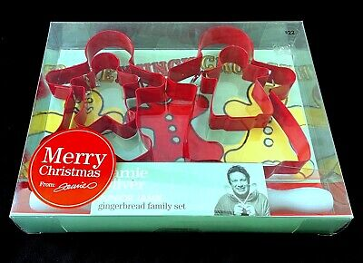 AU9.99 • Buy Jamie Oliver Junior Gingerbread Family Set Kid Baking Cookie Cutters Rolling Pin