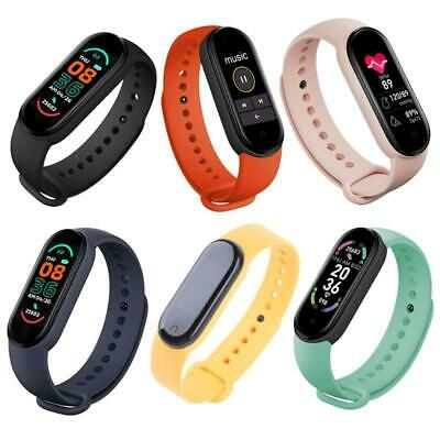 AU9.89 • Buy M6 Smart Watches Sports Watches Smart Wristbands For Men And Women