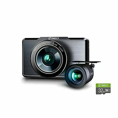 AU159.22 • Buy 360 G500H Dash Cam Front And Rear Wireless Built-in WiFi GPS Front 2K FHD Rea...